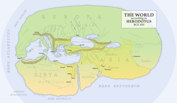 Herodotus World Map